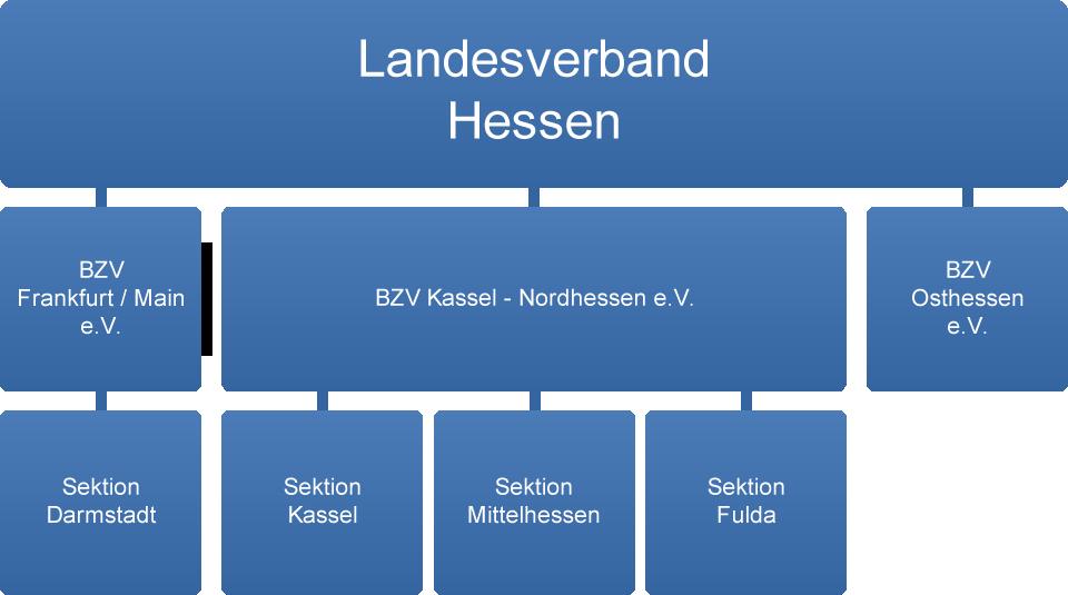 Bundesverband der Kehlkopflosen e.V. - Landesverband Hessen - Organigramm