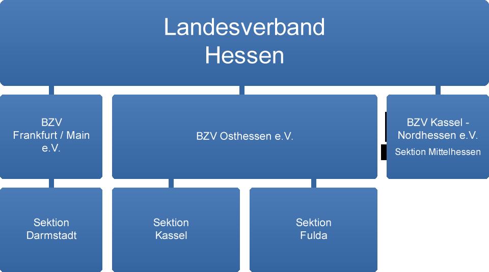 Bundesverband der Kehlkopfoperierten e.V. - Landesverband Hessen - Organigramm